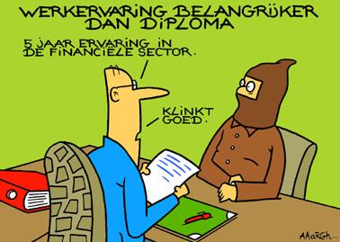 sollicitatie bank aaarghief | Aaargh sollicitatie bank